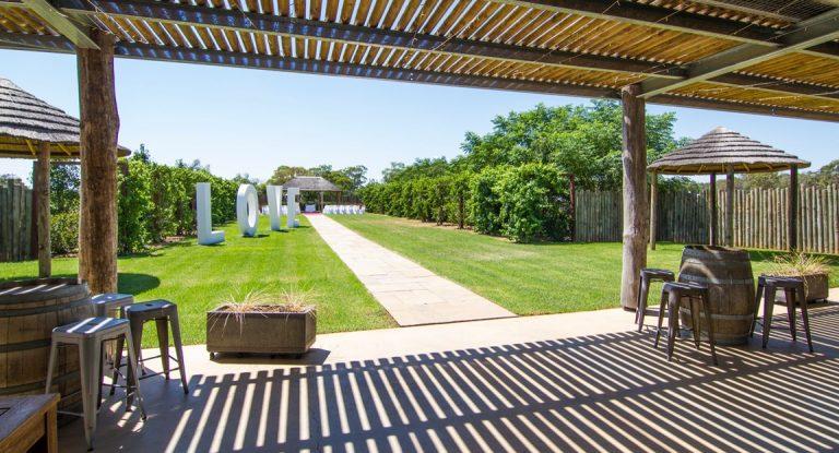 Ceremony Garden View
